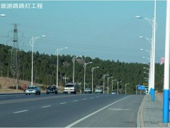 燕山立交桥、济南市旅游路灯亮化工程-路灯照明工程