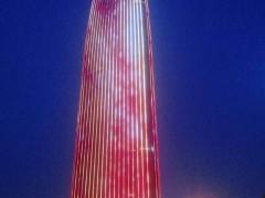 济南普利中心楼体亮化-户外亮化