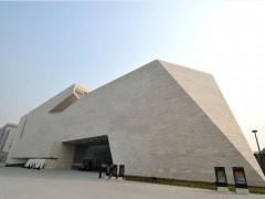 山东美术馆室内室外及景观亮化-景观工程