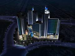 商业广场户外景观亮化设计——光与建筑之间的映衬 灯港照明