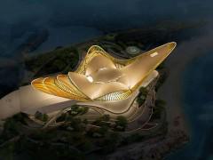 西海岸新地标凤凰之舟——户外照明工程