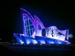青岛市黄岛区夜景亮化——户外照明工程