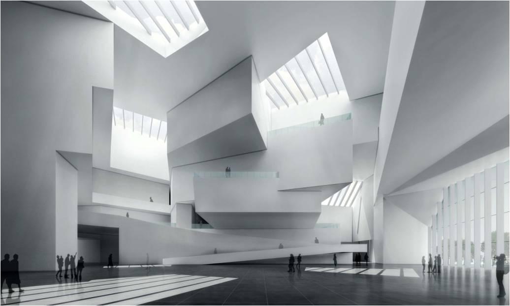 山东省美术馆-室内照明工程