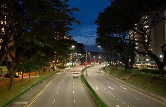 新加坡LED路灯
