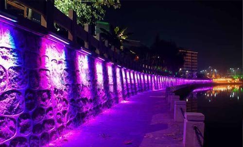 LED先墙灯效果-5