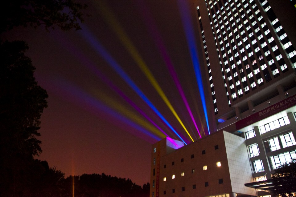 山东大学夜景