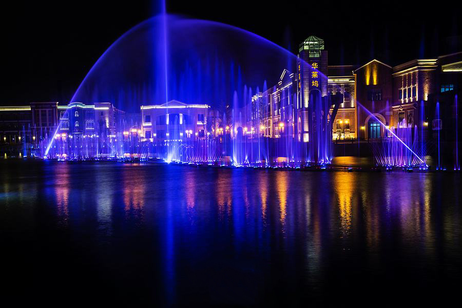 产业园音乐喷泉