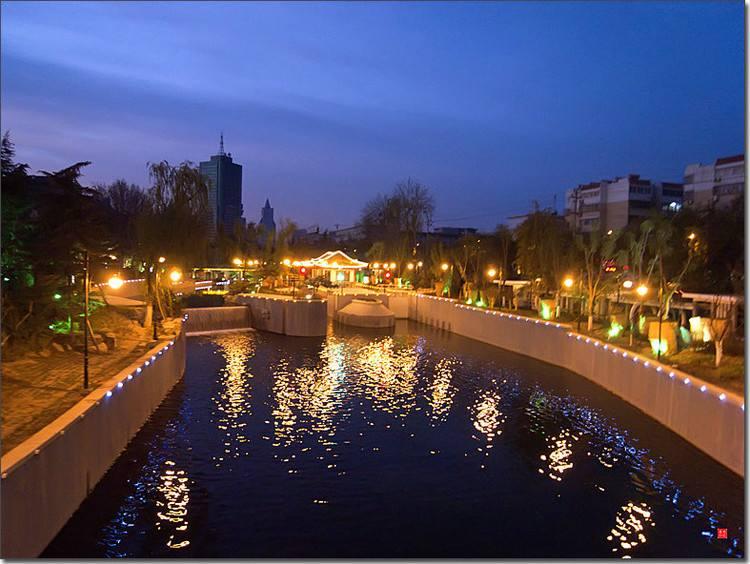 环城河亮化