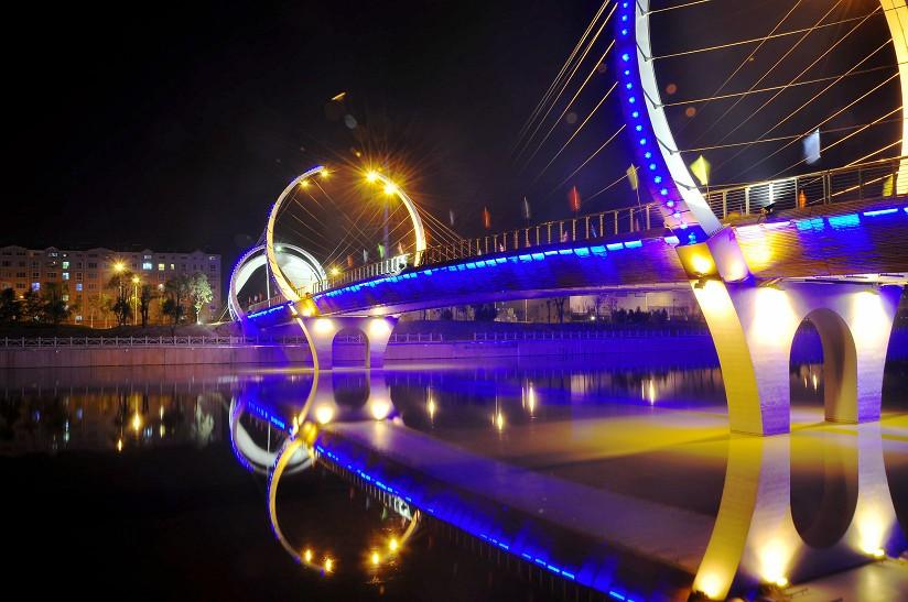 小清河灯亮工程-景观亮化