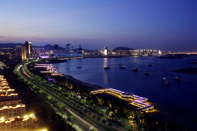 厦门海沧夜景亮化——城市照明工程