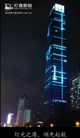 北京户外酒店桥梁户外防水led线条灯led洗墙灯led投光灯led路灯夜景亮化-灯港照明